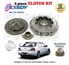 FOR SUBARU IMPREZA 2.0 WRX STi GDB 265BHP 320bhp 5/2002--> NEW CLUTCH KIT