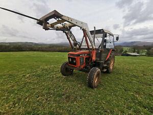 Zetor 6211 tractor
