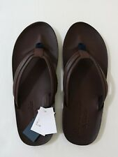 Abercrombie & Fitch Men Leather Flip Flop size XXL new with tags