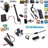 Mini HD Hidden Invisible WiFi DVR DIY Module Spy IP Camera Security DVR Camera