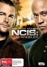 NCIS LOS ANGELES (COMPLETE SEASON 3 - DVD SET SEALED + FREE POST)