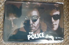 The Police Band Metal Sign Painted Poster Comics Book Superhero Wall Decor Club