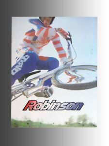 Collectable 1994 Robinson bicycle, product catalog, new product line