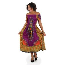 Traditional African Print Elegance Dress Women's Clothing