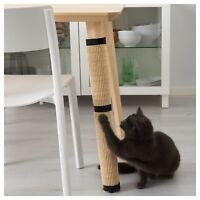 Rasguñando el poste para Gato girar fácilmente rápidamente pie de tabla rascador
