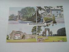 GUISBOROUGH Multiview - Retro Postcard - Unused  §DP314