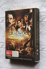 Deadwood: The Complete First Series (DVD, 4-Disc) R-4, Like new, free shipping