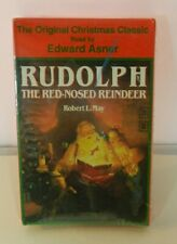 Rudolph The Red Nosed Reindeer Robert May Read by Edward Asner Audio Cassette