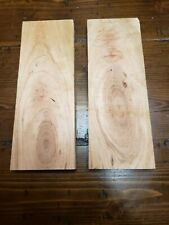 """Cherry (Crotchy/Figured)Lumber 8 1/2""""x3""""x5/8"""" Carving Craft Art Knife Scales"""