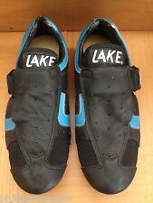 NOS LAKE Road Bike Cycling Shoes Size 38 1/2 for clipless pedals bike bicycle