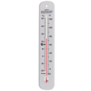 Wall Thermometer 215 mm Workplace Office Temperature Health and Safety  14/410/3