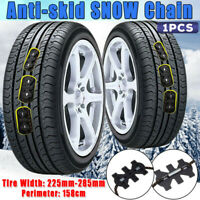Winter Anti-Skid Chains For Car SUV Snow Mud Wheel Tyre Tire TPU Chain 225-285mm
