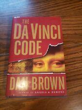 The Da Vinci Code by Dan Brown (2003, Hardcover)