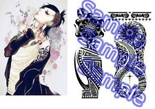 TOKYO GHOUL Uta Cosplay Tattoo Seal both arms Japanese manga OTAKU NEW