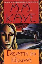 Death in Kenya by M. M. Kaye (1999, Paperback)