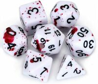 NEW Gaming Dice D20 Dice Dungeons and Dragons Dice Set of 7 Toys Gifts