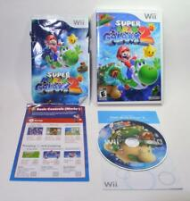 Super Mario Galaxy 2 Nintendo Wii game complete w/case,manual, cover artwork