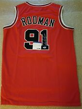 Dennis Rodman Signed Authentic Adidas Chicago Bulls Jersey PSA/DNA-ITP-COA