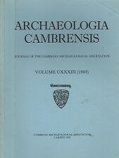 ARCHAEOLOGIA CAMBRENSIS (1984) GLAMORGAN - HARLECH - STONE RINGS - HOLYHEAD
