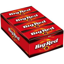 "8 x Wrigley´s ""Big Red"" (8 Packs x 15 Stripes = 120 Stripes)  **FREE SHIPPING**"
