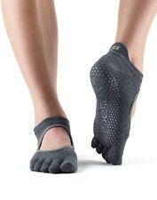 ToeSox Full Toe Bellarina Pilates Yoga Dance Martial Arts Grip Exercise Socks
