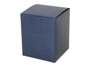 Box Blue 10x10x12 CM Wedding Favors DIY