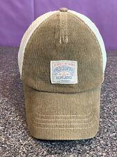 Polo Ralph Lauren Country Hat Cap Authentic Dry Goods Strapback Olive  Corduroy
