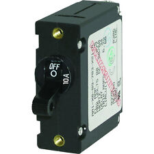 Blue Sea 7204 AC / DC Single Pole Magnetic World Circuit Breaker - 10 Amp