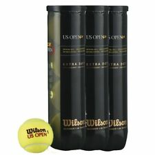 ONE DOZEN (12 BALL ) WILSON US OPEN TENNIS BALL, BALLS  UK  DPD 1 DAY DELIVERY.