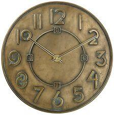 Frank Lloyd Wright Exhibition Typeface Clock Bulova 1930 Style Brand New In Box