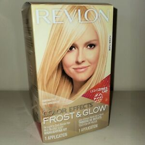 Revlon Color Effects Frost & Glow Highlight Platinum 1 Count Discontinued Sealed