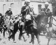 German Uhlan Prisoners captured by French Cavalry WW1 8x10 World War I Photo