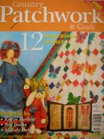 COUNTRY PATCHWORK & CRAFT Magazine Vol:5 No.2 - 12 Projects & Patterns Attached