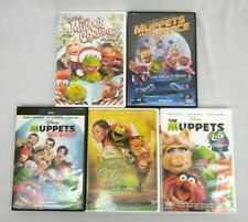 Lot of 5 Muppets Movie DVD Most Wanted Wizard of Oz Christmas Muppets From Space