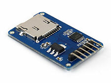 Micro SD Reader / Writer TF Card Memory Board Module SPI Arduino PIC - UK SELLER