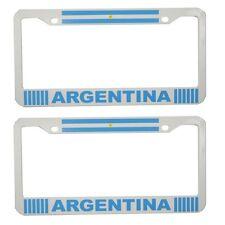 """Argentina FLAG"" License Plate Plastic 2 piece"