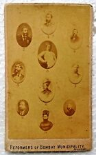 BOMBAY MUNICIPALITY REFORMERS VINTAGE CABINET PHOTO CARD STUDIO COLLECTIBLES #34