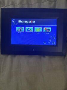 Digital Photo Frame Sungale 7 inch Model CA705 Wide Screen Photo Slide Show