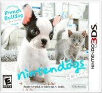 Nintendogs + Cats French Bulldog & New Friends Nintendo 3DS Brand New