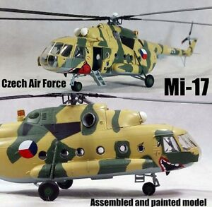 Easy model Mi-17 Mi-8M Czech air force No.0826 helicopter No21 1/72 non Diecast