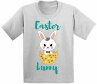 Easter Bunny T-shirt Holiday Toddler Shirt for Boys Girls