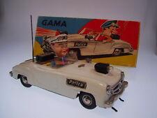 """GSPKW GAMA 104 """"MERCEDES 190 SL POLICE""""  23cm, BO, VERY GOOD IN ORIGINAL BOX  !"""
