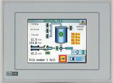 Exor UniOP eTOP02-0046 touch panel HMI