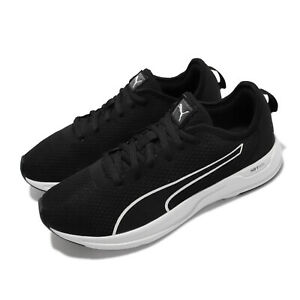 Puma Accent Black White Men Unisex Running Sports Shoes Sneakers 195515-01