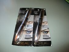 LOREAL VOLUMINOUS SUPERSTAR MASCARA 623 BLACK BROWN X 2