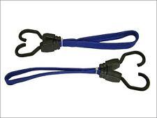 Faithfull - Flat Bungee Cord 46cm (18in) Blue