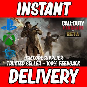 Call of Duty Vanguard Early Access Betas Code COD -Xbox / PS4 / PS5 /PC  INSTANT