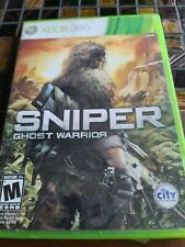 Sniper: Ghost Warrior (Microsoft Xbox 360, 2010) With Manual Free Shipping
