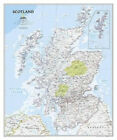 National Geographic: Scotland Classic Wall Map (30 X 36 Inches)