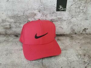 Nike AeroBill Dri-fit Swoosh Flex Perforated Golf Cap Hat S/M BV1073-609